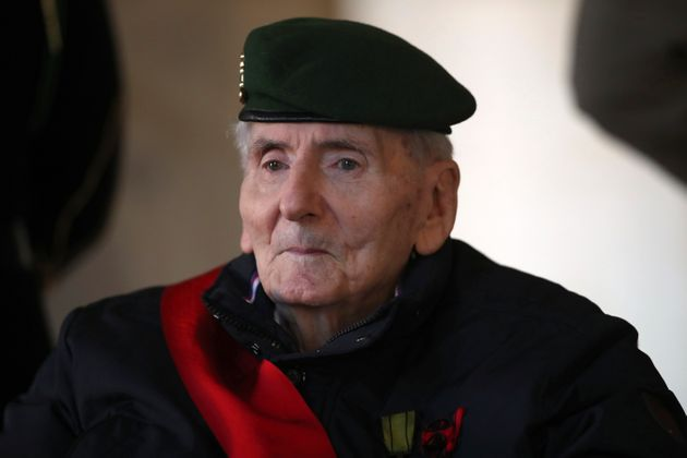 Mort d'Hubert Germain, dernier compagnon de la Libération (Photo prise le 26 novembre 2020 par Michel Euler/Pool via REUTERS)