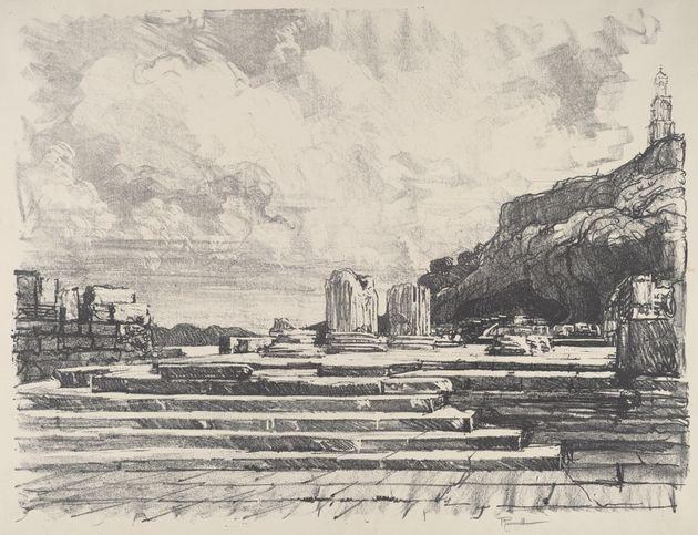 Ελευσίνα (1913) από τον καλλιτέχνη Τζόζεφ Πένελ.