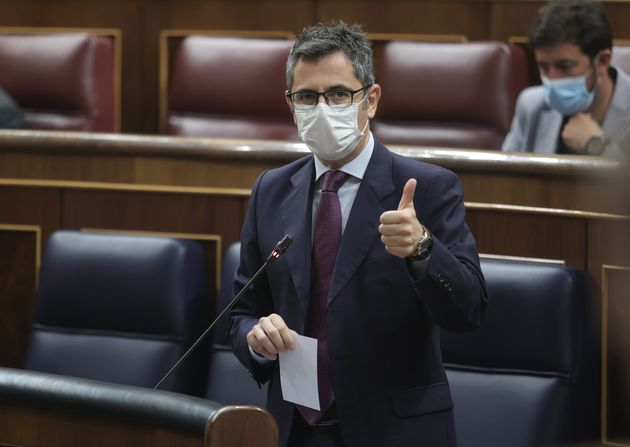 El ministro de Presidencia, Félix Bolaños, es clave en la negociación con los grupos