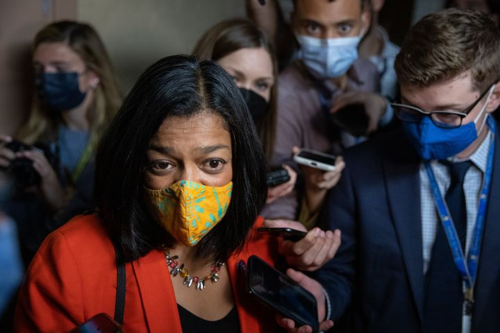 Rep. Pramila Jayapal (D-Wash.), who chairs the Congressional Progressive Caucus is urging Democrats to shy away from cutting out programs from Build Back Better.