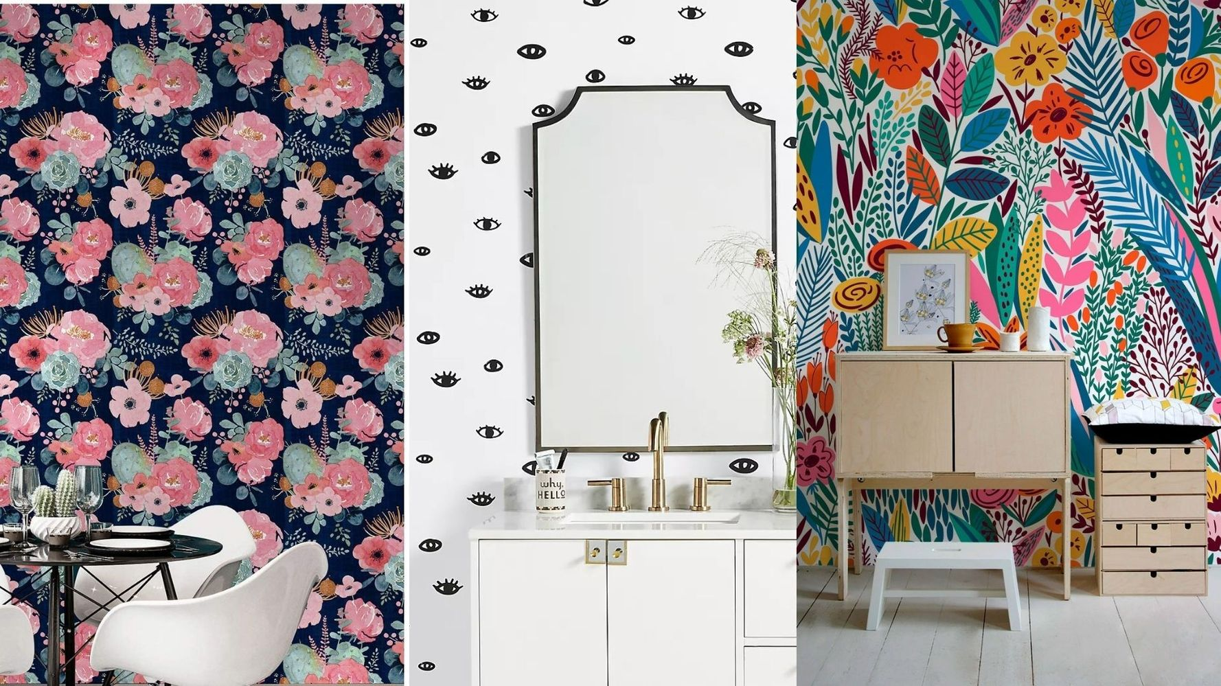 27 Whimsical Peel-And-Stick Wallpapers To Brighten Up Your Home