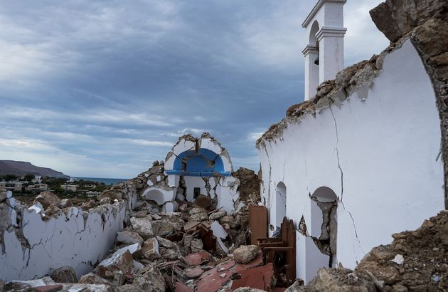 Στην Σητεία ο Πλακιωτάκης - Συσκέψεις μετά τον σεισμό των 6,3
