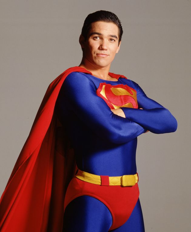 Dean Cain played Clark Kent in Lois & Clark: The New Adventures Of Superman from 1993-1997 (Photo...