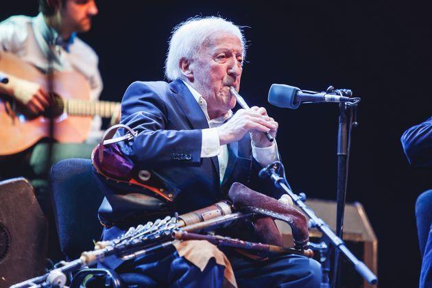 Paddy Moloney, deThe Chieftains, en Las Noches Del Botánico