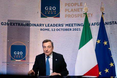Draghi e Afghanistan, una nuova proiezione internazionale