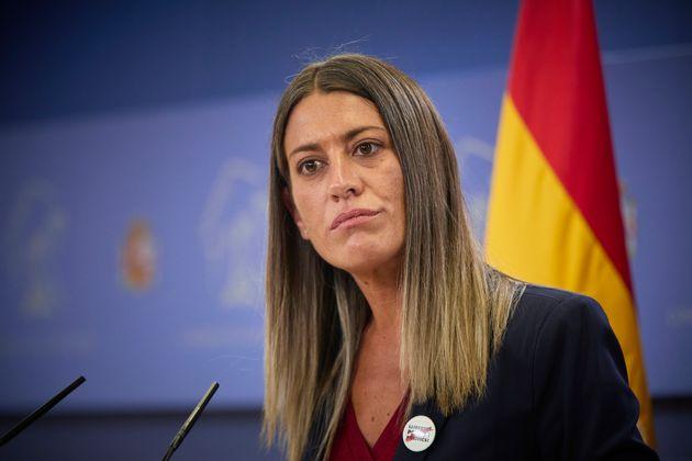 La portavoz de Junts per Catalunya, Miriam Nogueras, en una foto de