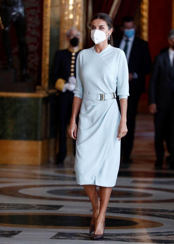 Letizia, vestida de María Barragán
