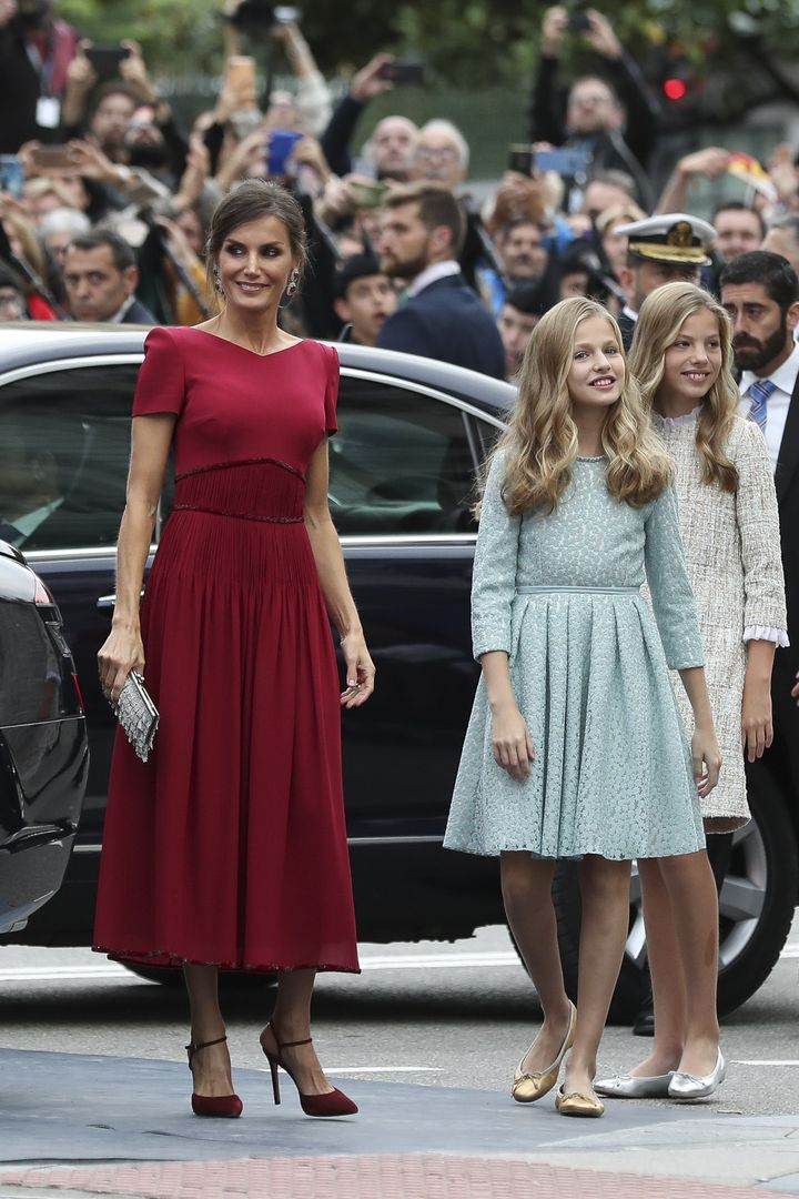La reina, en los Princesa de Asturias 2019