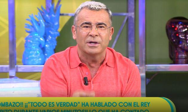 El presentador Jorge Javier Vázquez en