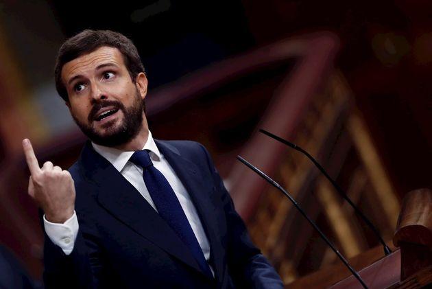 Pablo Casado, líder del