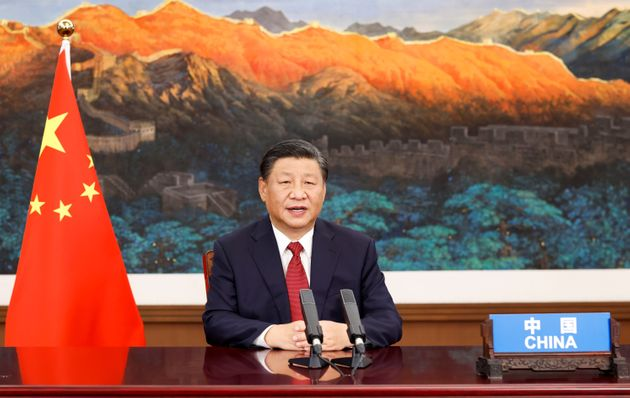 Chinese President Xi Jinping addresses the general debate of the 76th session of the United Nations General...