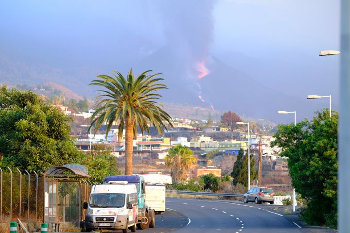 Hundreds of people on La Palma in Spain's Canary Islands woke up Wednesday fearing for their homes and property.