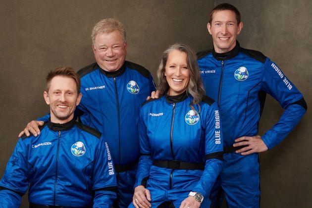 Έτοιμος για το Διάστημα ο «κάπτεν Κερκ»: Ο Γουίλιαμ Σάτνερ σε αποστολή της Blue