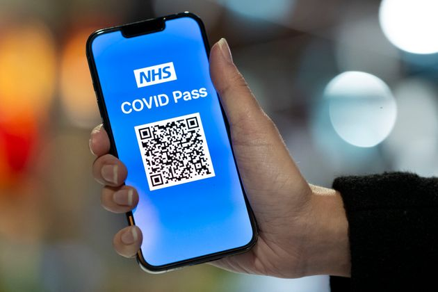 The NHS Covid Pass app used for travel went down on