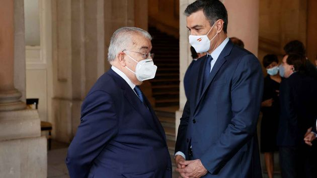 El presidente del Constitucional y Pedro