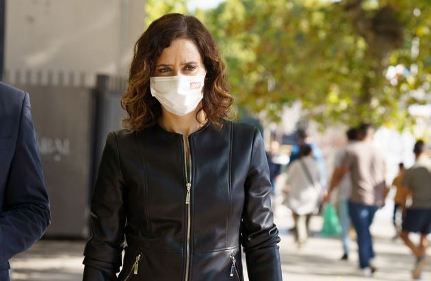 La presidenta de la Comunidad de Madrid, Isabel Díaz Ayuso, en una imagen de