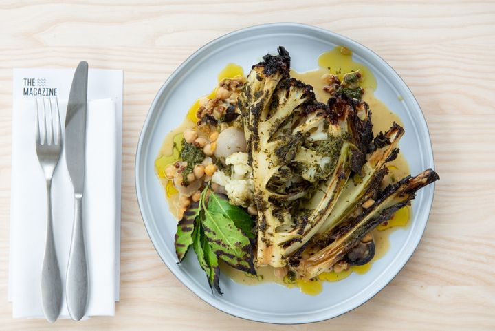 Slow-roasted cauliflower should be on every climavore's menu.