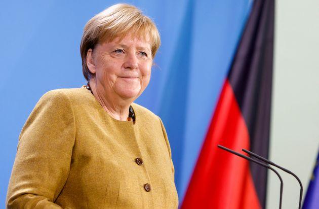 Angela Merkel, canciller saliente de