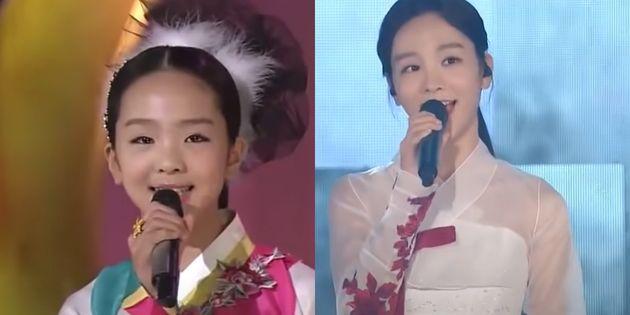 국악가수 송소희.