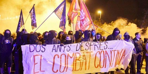 CDR manifestación en