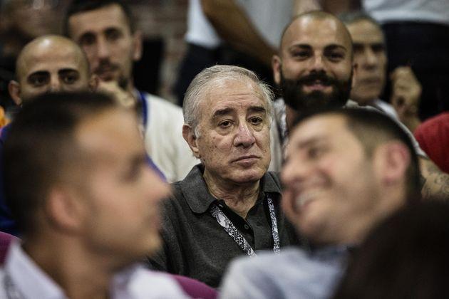 Marcello Dell'Utri durante il congresso dei Radicali nel carcere di Rebibbia, Roma, 01 settembre 2016....