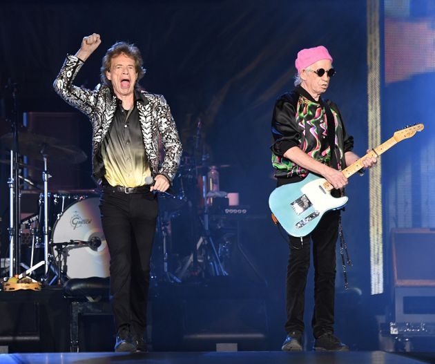 Mick Jagger y Keith Richards en un concierto de su gira 'No Filter' el pasado 9 de