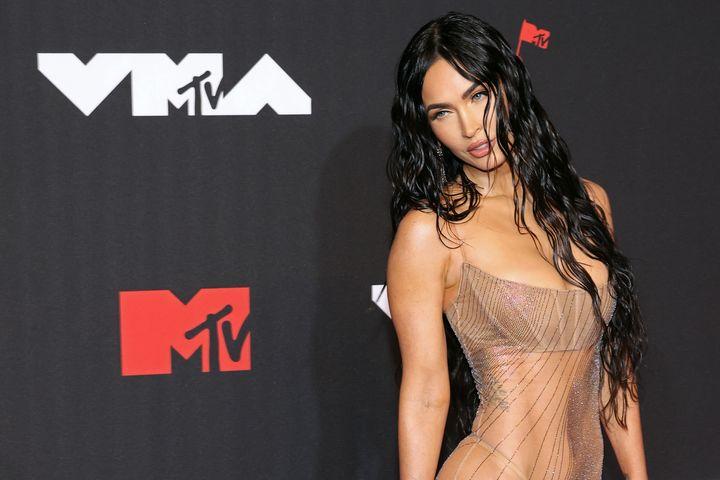 Megan Fox en los 2021 MTV Video Music Awards.