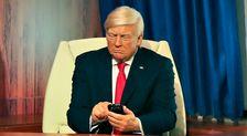 Trump Waxwork Stares At His Phone, Ignores Melania In New Display