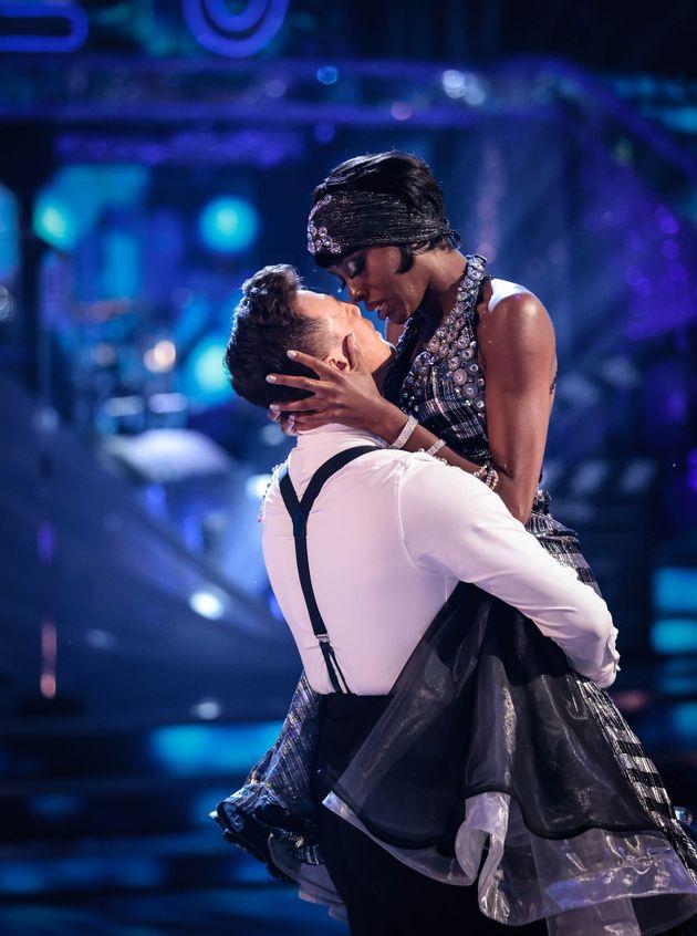 Kai Widdrington and AJ Odudu on the Strictly dance