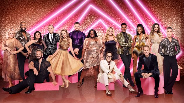 The celebrity cast of Strictly Come Dancing