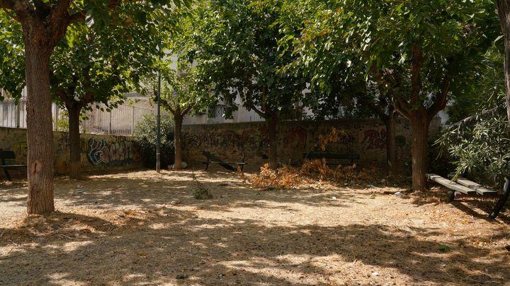 Το πάρκο Λεάγρου πριν τις επεμβάσεις