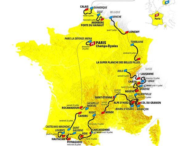 Ce jeudi 14 octobre, le parcours du Tour de France 2022 a été présenté officiellement par ASO. Le départ en sera donné le 1er juillet prochain de Copenhague, au Danemark.