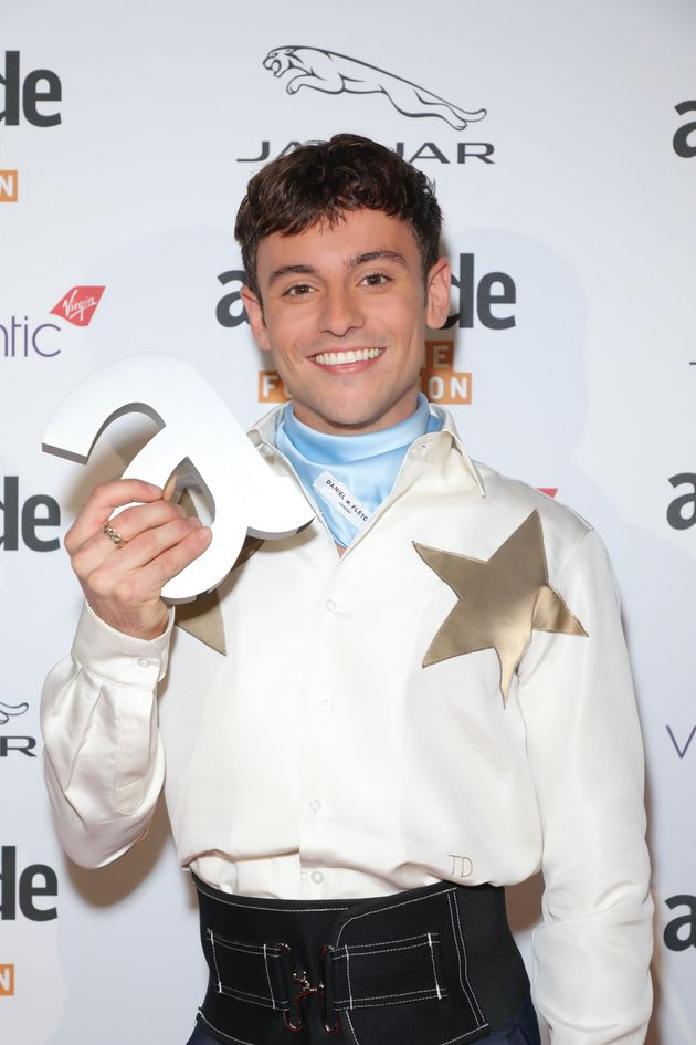 Tom Daley at the Attitude