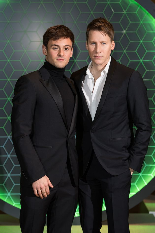 Tom Daley and his husband Dustin Lance Black in