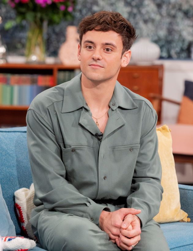 Tom Daley on This Morning on