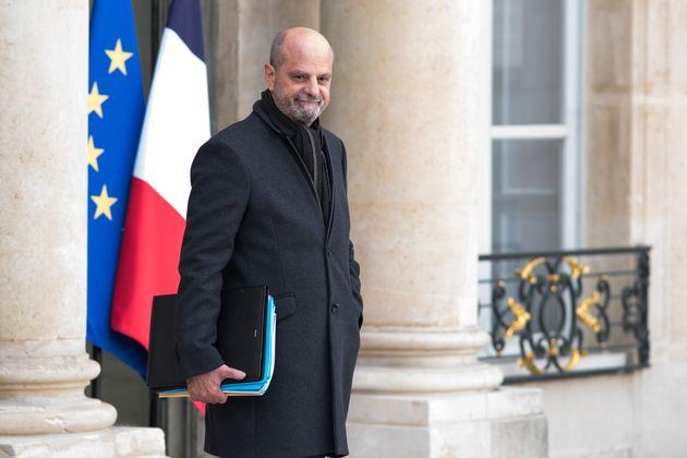 Jean-Michel Blanquer, ici à la sortie du conseil des ministres le 13 octobre, est en guerre contre...