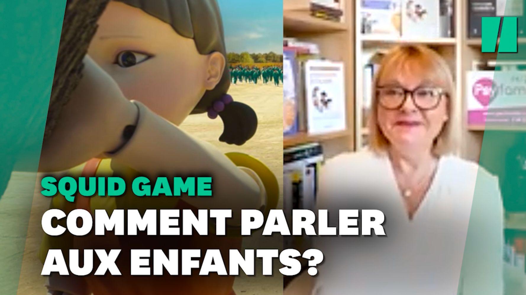 """Comment parler du sujet """"Squid Game"""" avec les enfants?"""