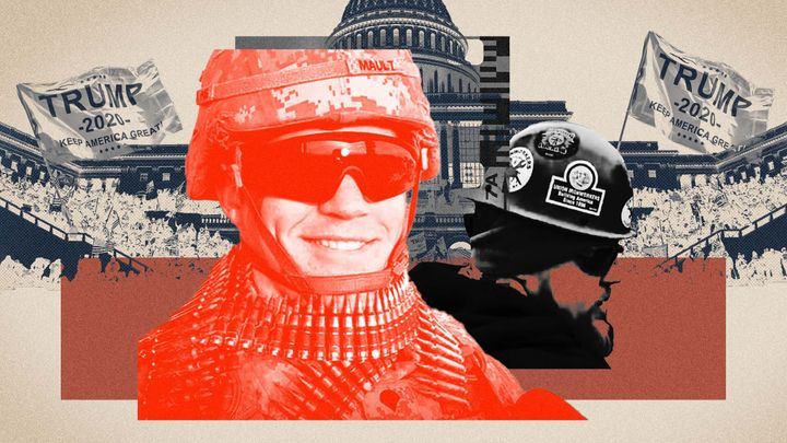 James Mault was photographed spraying police with a chemical agent while officers were under siege by a violent mob of Trump supporters at the U.S. Capitol on Jan. 6.
