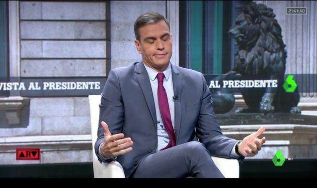 La reacción de Pedro Sánchez a una pregunta de