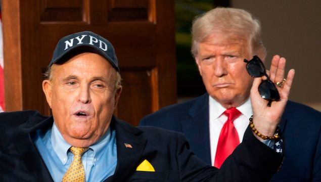 Awkward? A Personal Gift From Trump To Giuliani Just Sold At Auction.jpg
