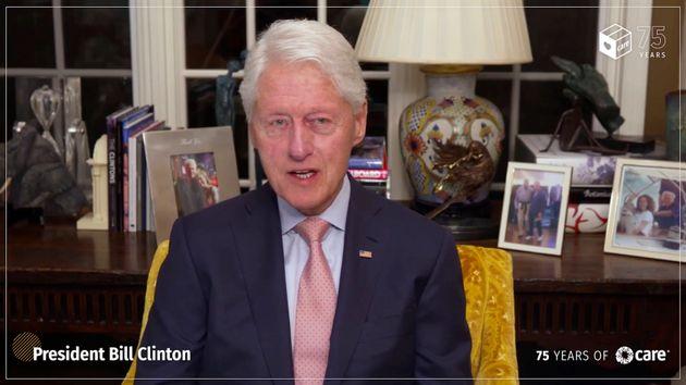 ビル・クリントン元大統領(2021年5月11日)