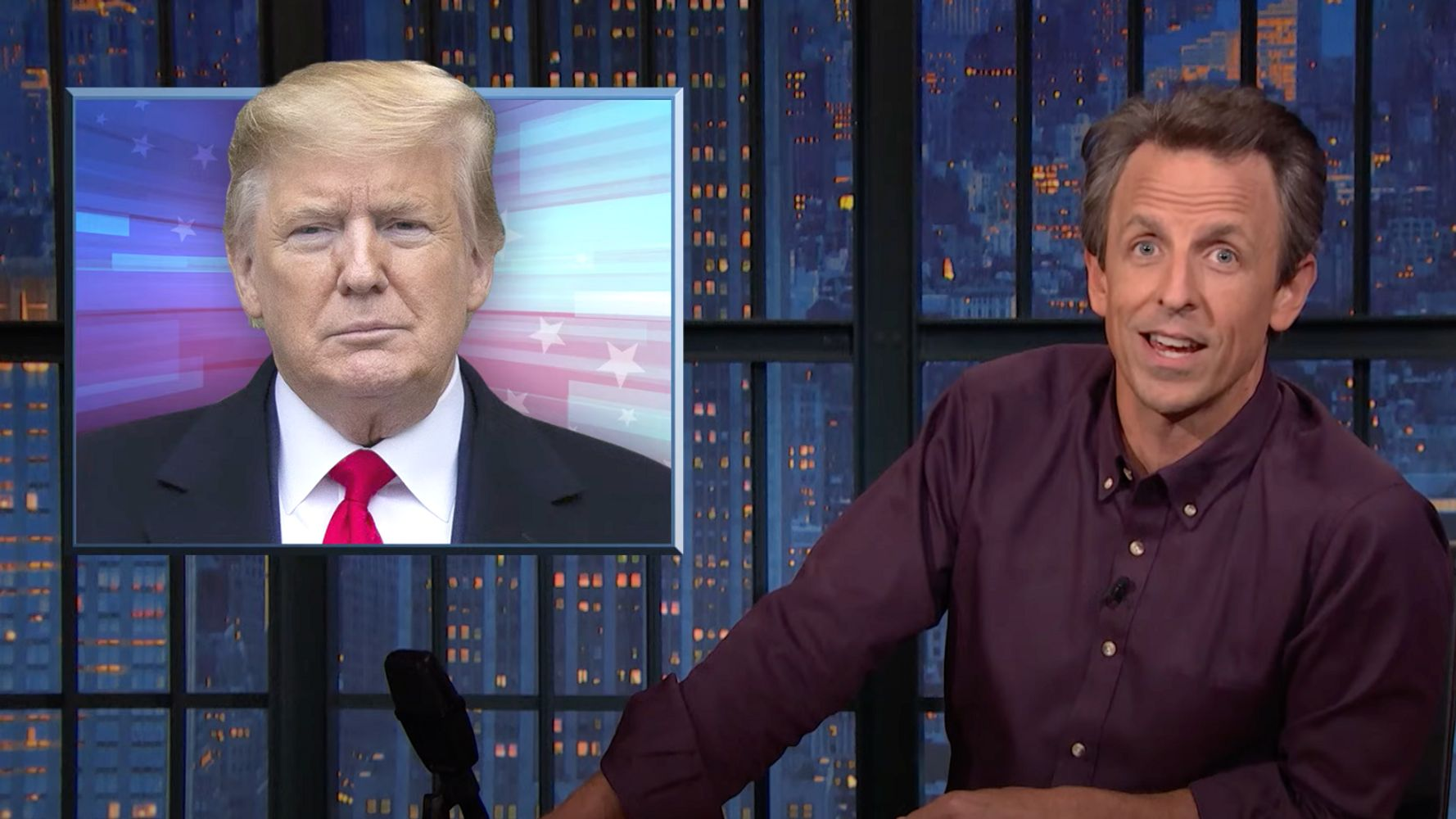 Seth Meyers Laughs At Republicans After Trump Says Their Voters Won't Vote