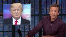 Seth Meyers Snickers At Republicans After Trump Says Their Voters Won't Vote