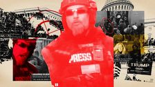 He Dressed Up As Press To Storm The Capitol. Now We Know He Runs A White Nationalist Website.