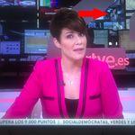 Momentazo televisivo en el Canal 24 horas de TVE: ojo a lo que aparece en el monitor del