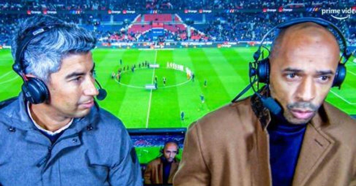 Pour son premier match de L1 commenté sur Prime, Thierry Henry impressionne les téléspectateurs