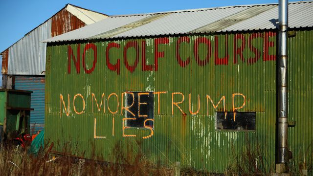 Scottish Dunes Trump Promised To Protect On His Golf Course Are Ruined.jpg
