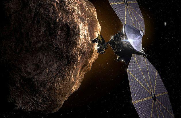 Lucy & αστεροειδής (καλλιτεχνική