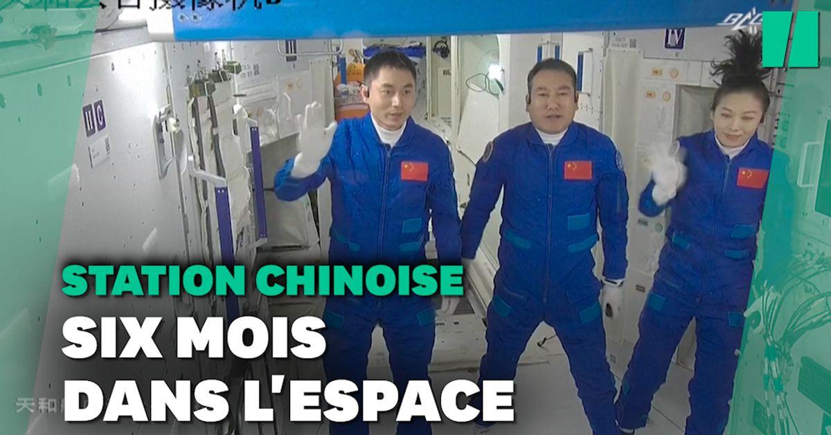 Le programme bien rempli des 3 astronautes chinois arrivés à bord de leur station spatiale