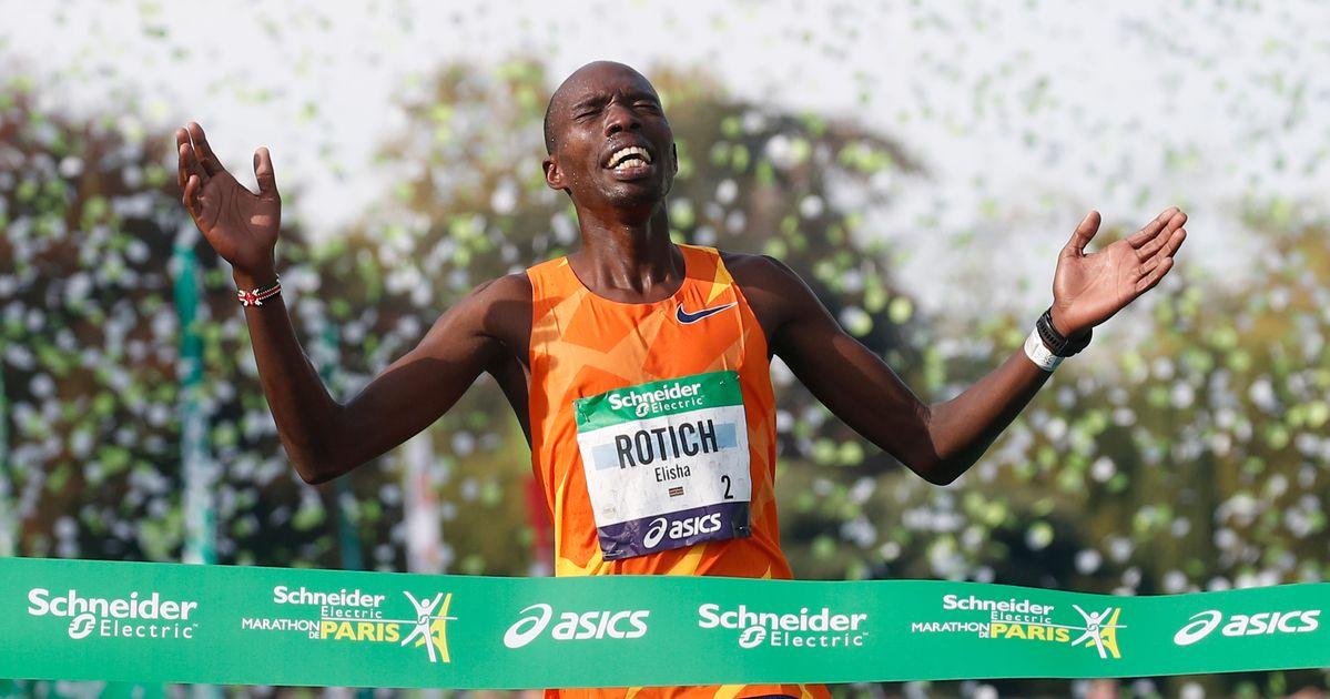 Le record de l'épreuve largement battu pour le retour du marathon de Paris